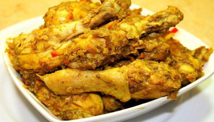 الدجاج بالكاري