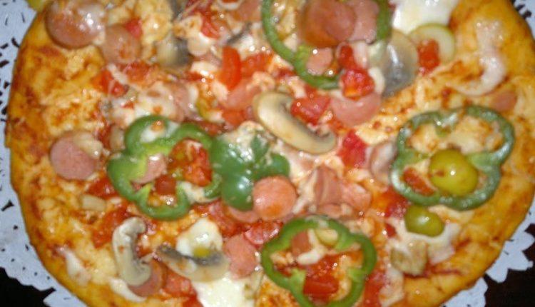 بيتزا التونة سهلة