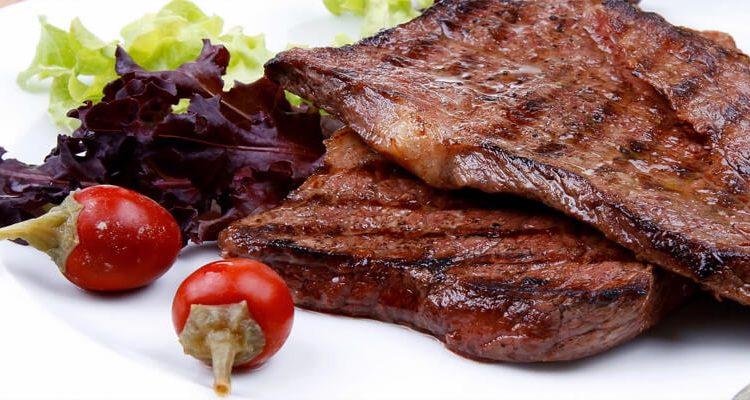 طريقة عمل ستيك اللحم للشيف نجلاء الشرشابي