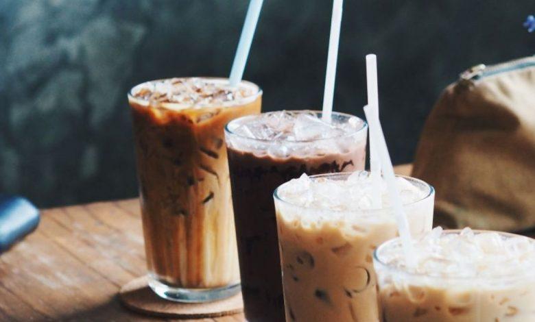 طريقة عمل القهوة الباردة بالكراميل