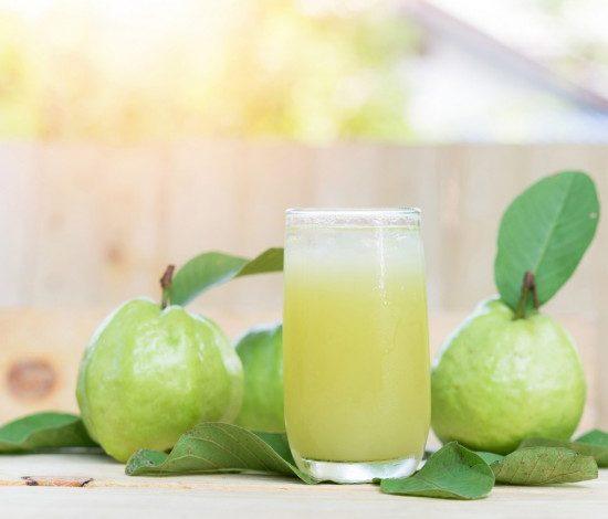 عصير الجوافة الطبيعي