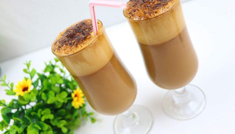 طريقة عمل القهوة الكورية المثلجة