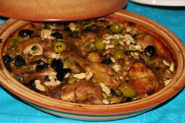 طريقة عمل طاجن الدجاج المغربي 1
