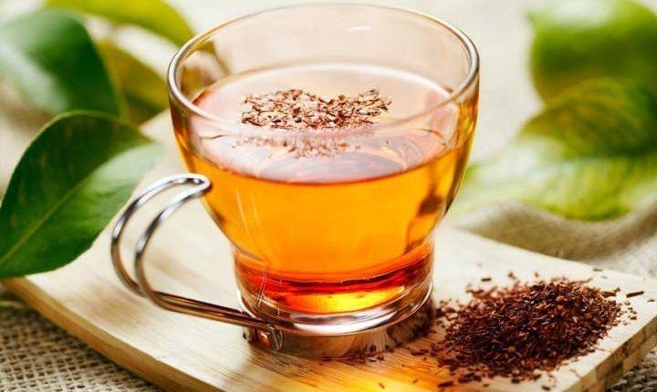 طريقة عمل مشروب الأعشاب المرمرية مع الشاي الأخضر