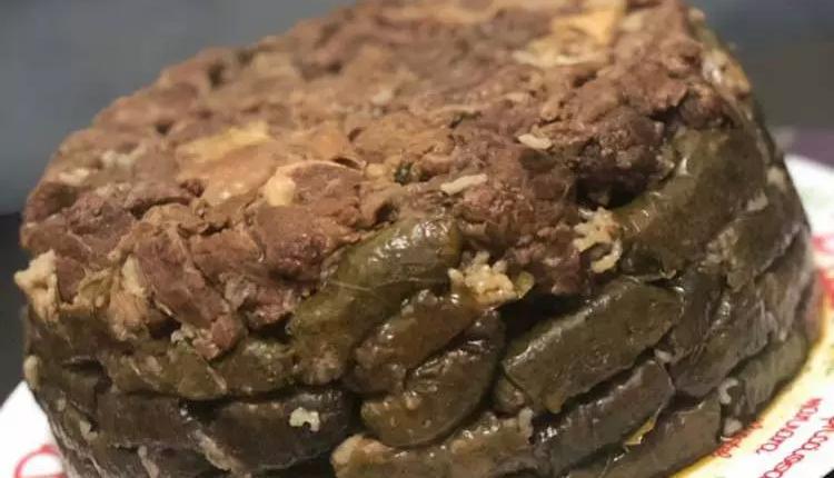 طريقة عمل ورق العنب المصري باللحم