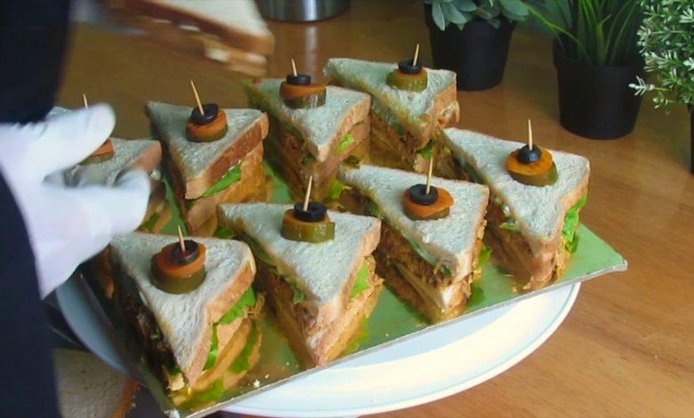 طريقة عمل كلوب ساندوتش شهي وخفيف