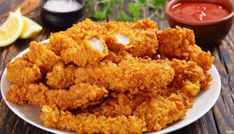 طريقة عمل استربس الدجاج