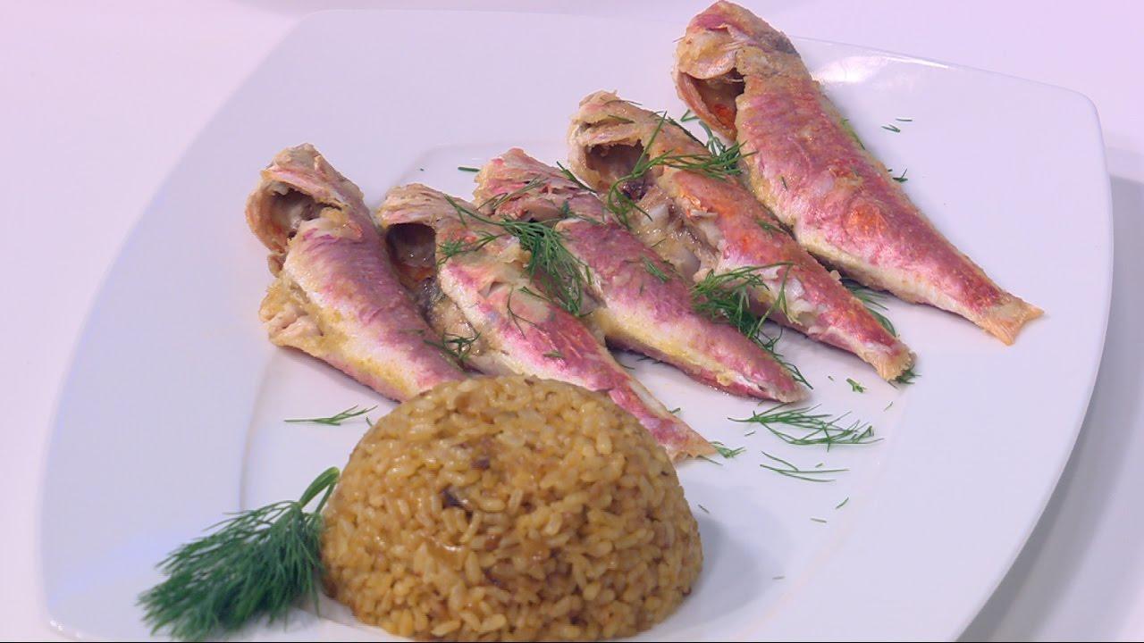طريقة عمل سمك البربون في الفرن