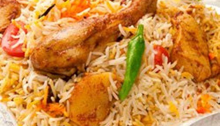 البريانى الهندي بالدجاج