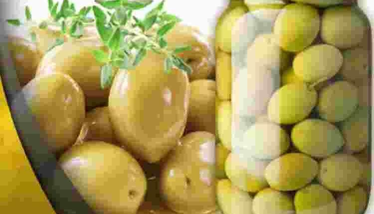 طريقة عمل الزيتون الأخضر مخلل في المنزل بسرعة