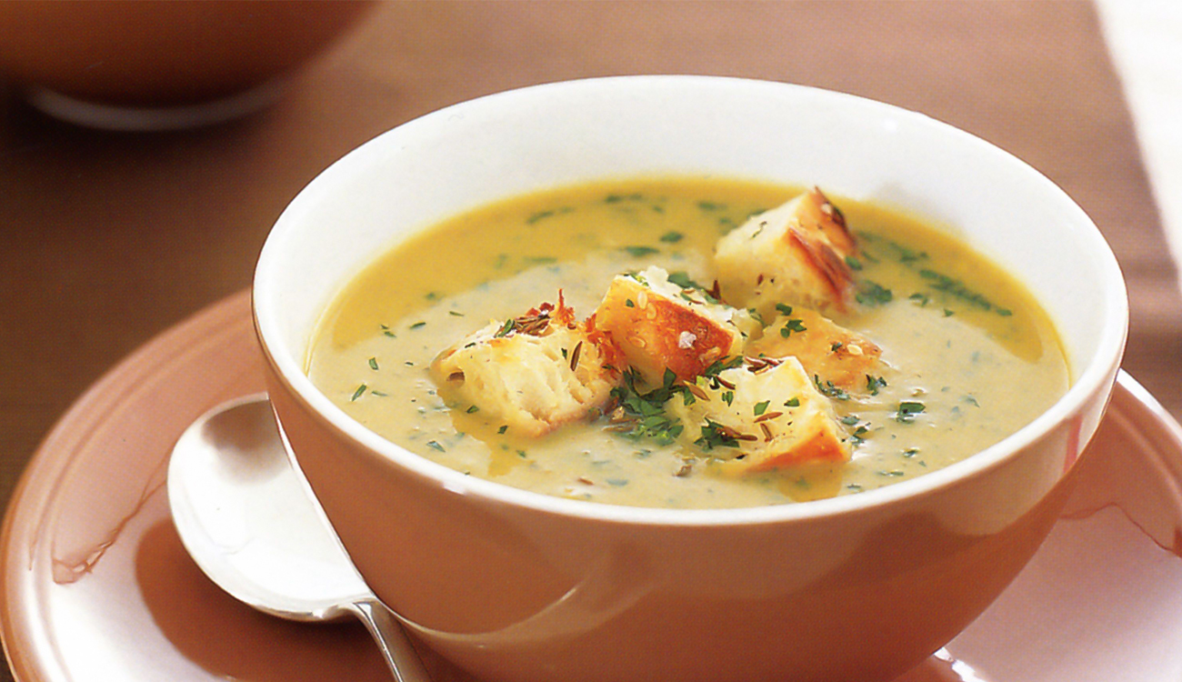 طريقة عمل حساء الجبن