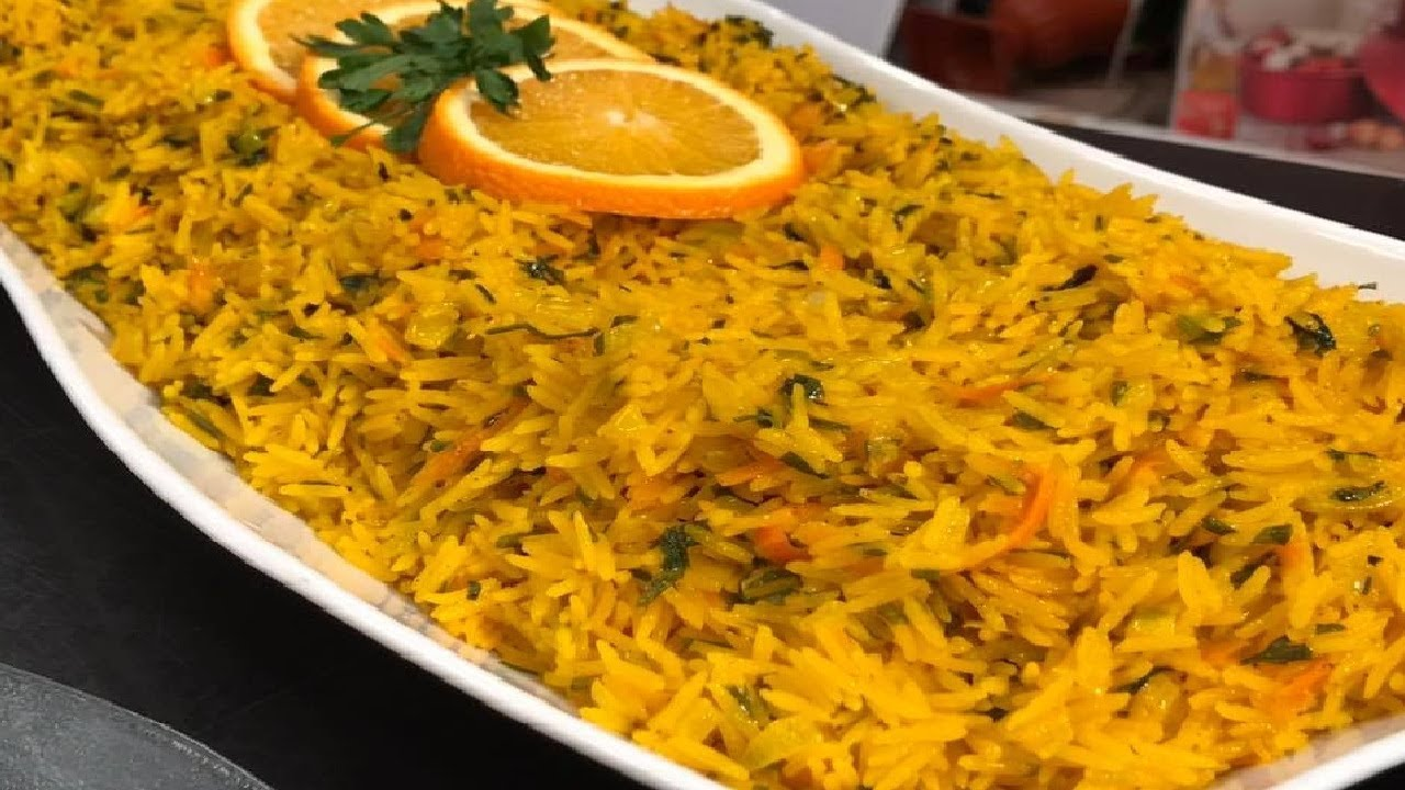 طريقة عمل ارز بالبرتقال