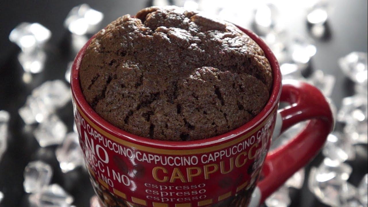 طريقة تحضير كيكة الشوكولاتة بالفنجان