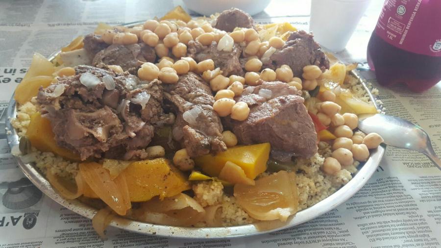 طريقة عمل المفتول الفلسطيني باللحم