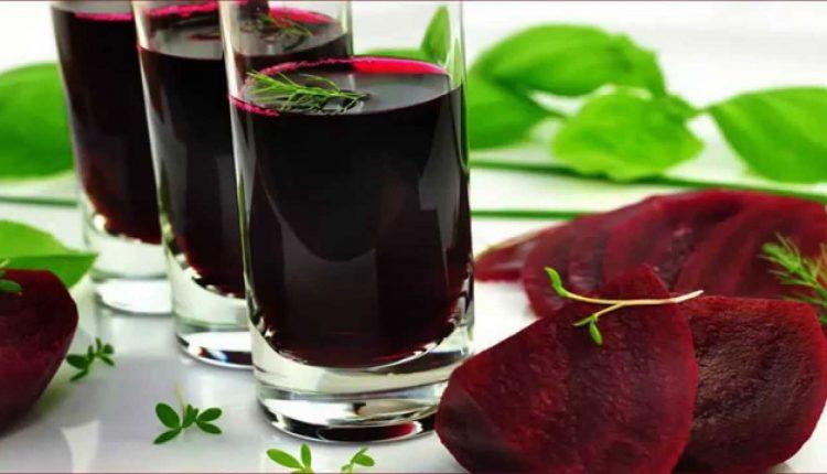 طريقة عمل عصير البنجر لفقر الدم