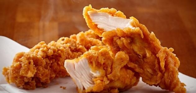 طريقة الدجاج المقرمش kfc