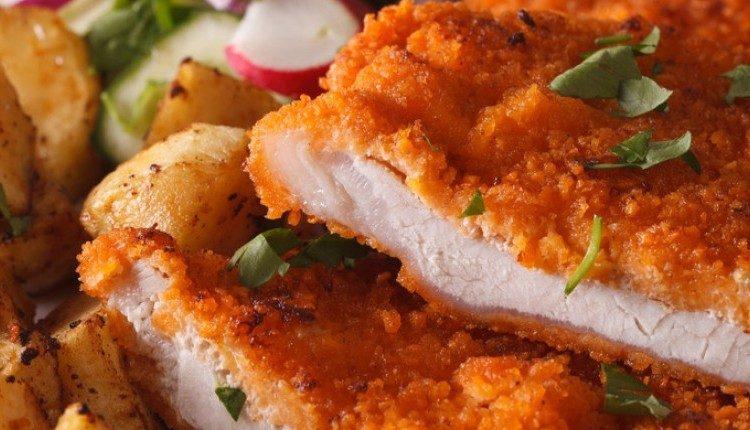 طريقة عمل سكالوب الدجاج