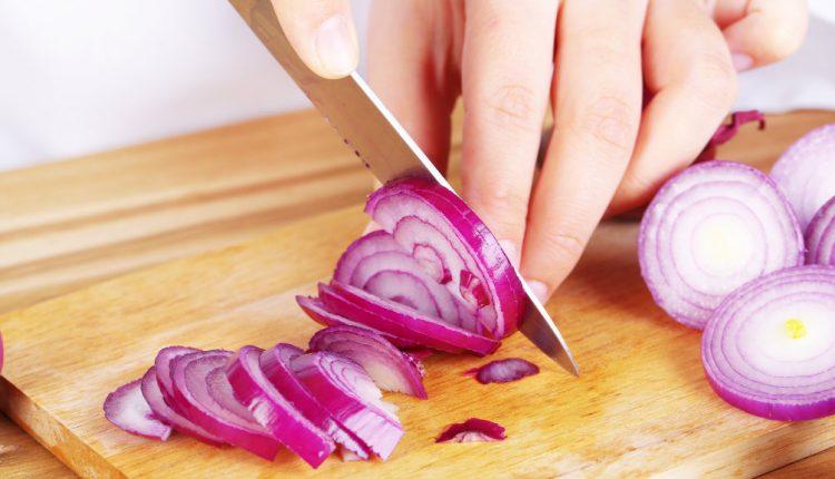طريقة تفريز البصل