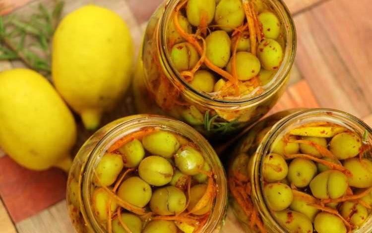 طريقة عمل الزيتون المخلل