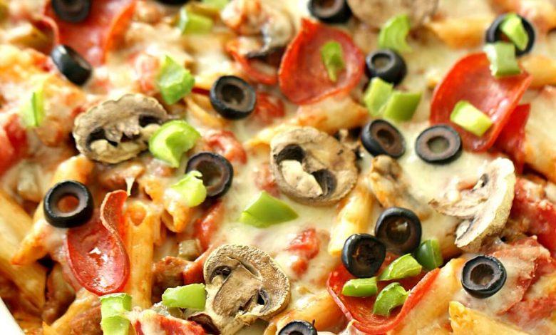 طريقة بيتزا باستا سريعة