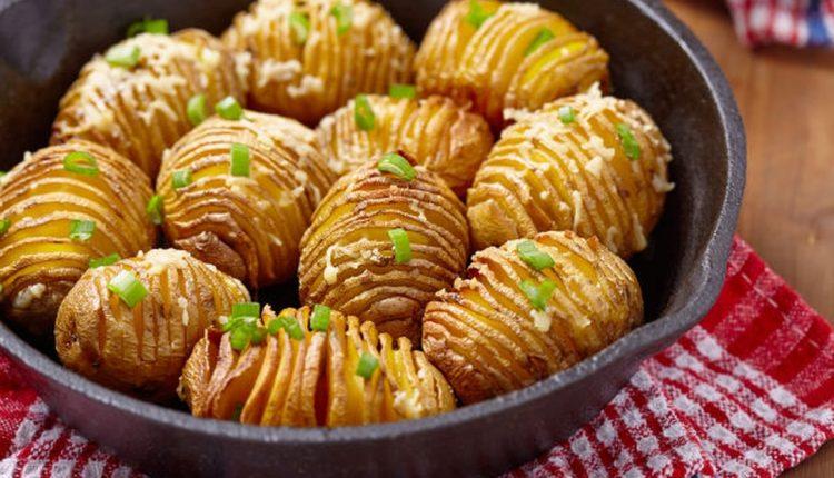طريقة عمل البطاطس الصيامى والدايت