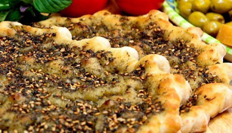 طريقة عمل شرائح الخبز بالزعتر
