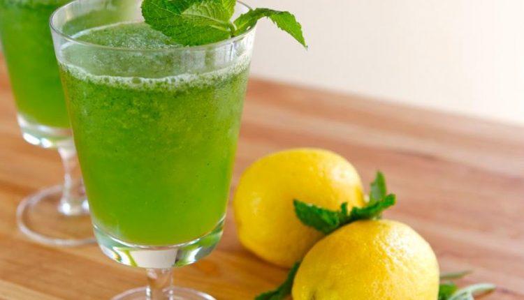 طريقة عمل مشروبات باردة سهلة عصير الليمون بالنعناع بطريقة الشيف هالة فهمي