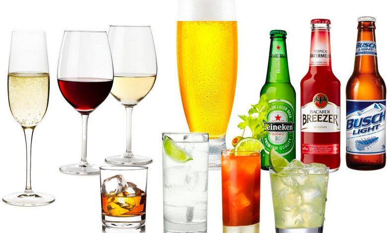 المشروبات الممنوعة في الكيتو