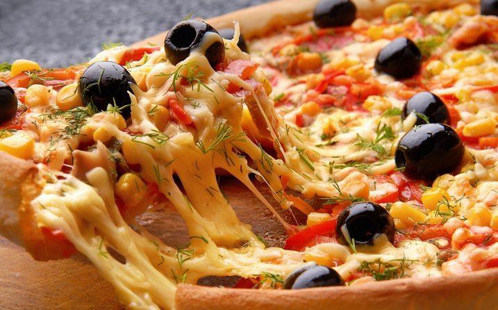 بيتزا الطاسة السريعة