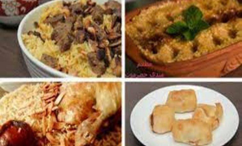 اكلات اليوم الوطني السعودي