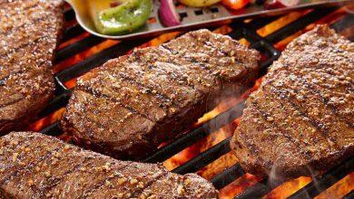 طريقة عمل اللحم المشوي للدايت